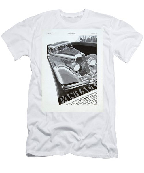 Panhard #8710 Men's T-Shirt (Athletic Fit)