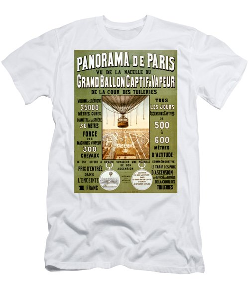 Panorama De Paris Men's T-Shirt (Athletic Fit)