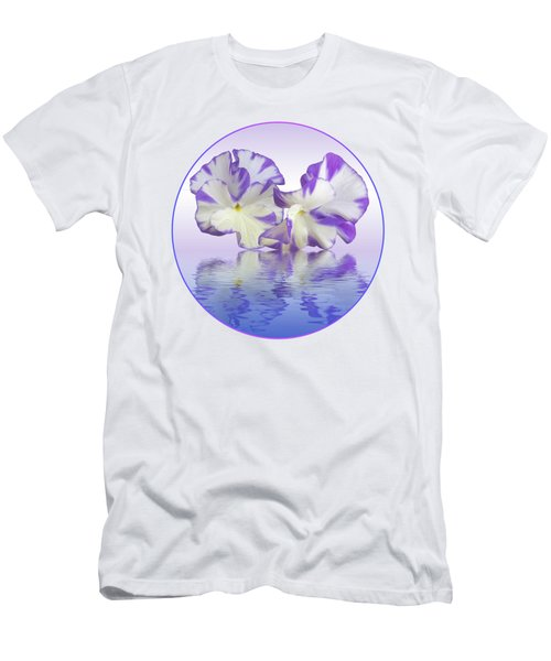 Pansy Reflections Men's T-Shirt (Athletic Fit)