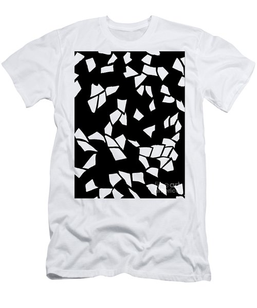 Paper Confetti Men's T-Shirt (Slim Fit) by Tim Townsend