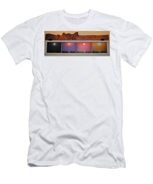 Paper Sun Men's T-Shirt (Slim Fit) by John Wartman