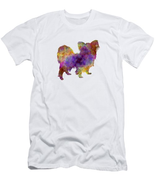 Papillon In Watercolor Men's T-Shirt (Athletic Fit)