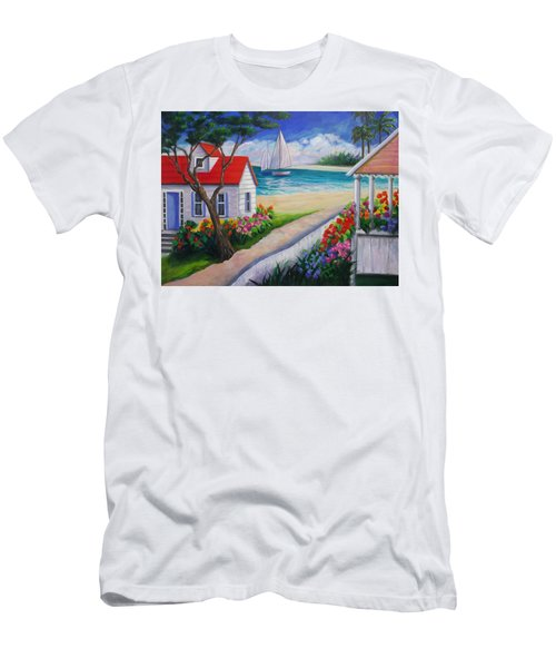 Paradise Men's T-Shirt (Athletic Fit)