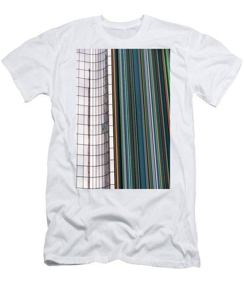 Paris Abstract Men's T-Shirt (Slim Fit) by Steven Richman