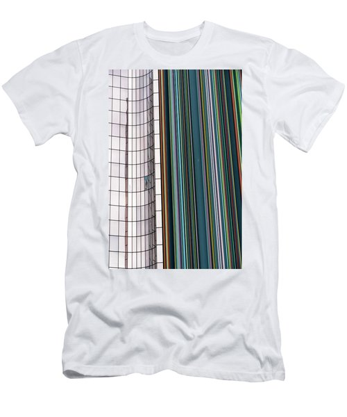 Paris Abstract Men's T-Shirt (Athletic Fit)