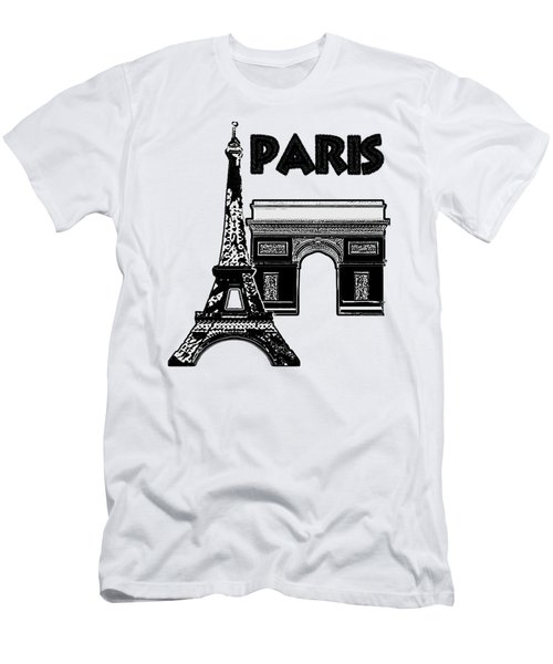 Paris Graphique Men's T-Shirt (Athletic Fit)