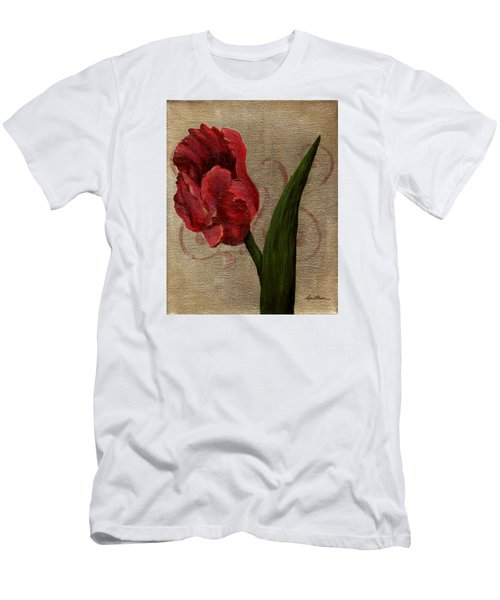 Parrot Tulip I Men's T-Shirt (Athletic Fit)