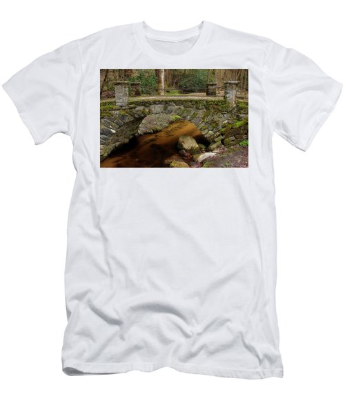 Men's T-Shirt (Slim Fit) featuring the photograph Passing Over Many Years by Mike Eingle