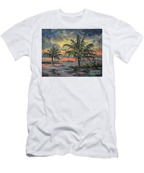 Passing Storm Men's T-Shirt (Slim Fit) by Donald Maier