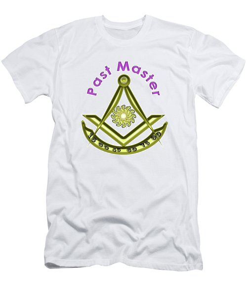 Past Master In White Men's T-Shirt (Athletic Fit)
