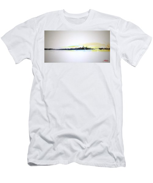 Pastel Morning Men's T-Shirt (Athletic Fit)