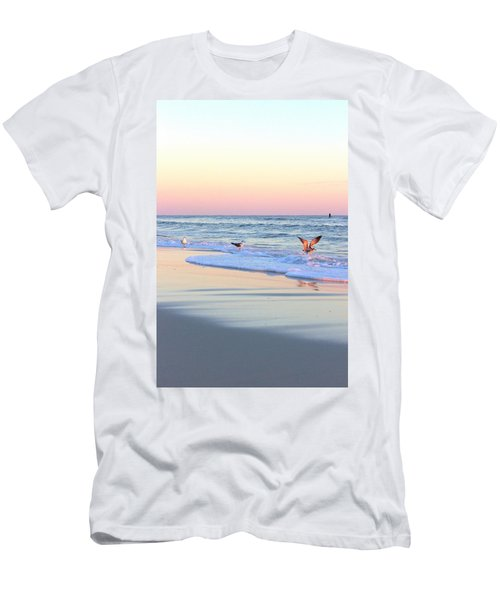Pastels On Water Men's T-Shirt (Athletic Fit)