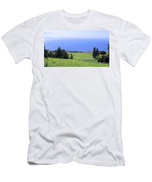 Pasture By The Ocean Men's T-Shirt (Athletic Fit)