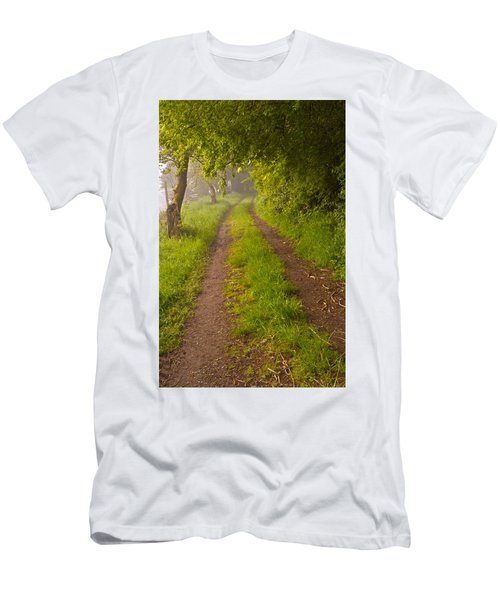 Path From Bullock Lake Men's T-Shirt (Athletic Fit)