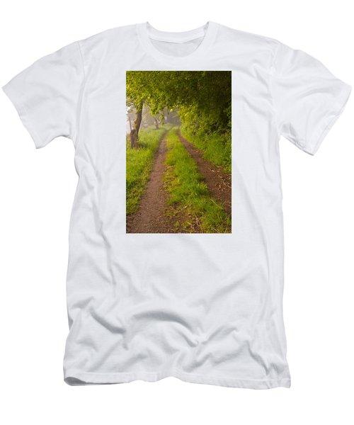Path From Bullock Lake Men's T-Shirt (Athletic Fit)