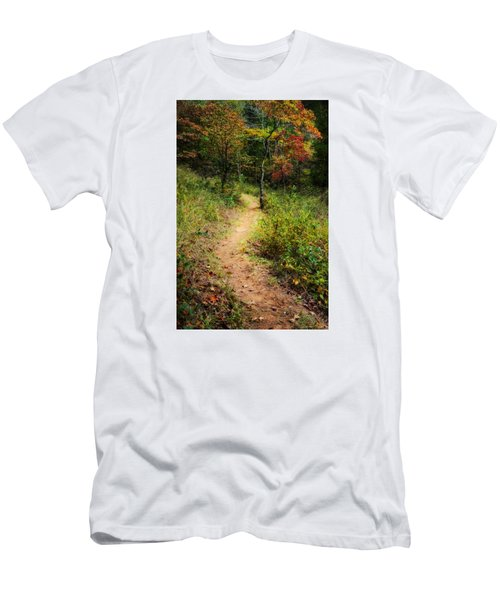 Path In The Prairie Men's T-Shirt (Athletic Fit)