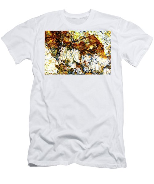 Men's T-Shirt (Slim Fit) featuring the photograph Patterns In Stone - 210 by Paul W Faust - Impressions of Light
