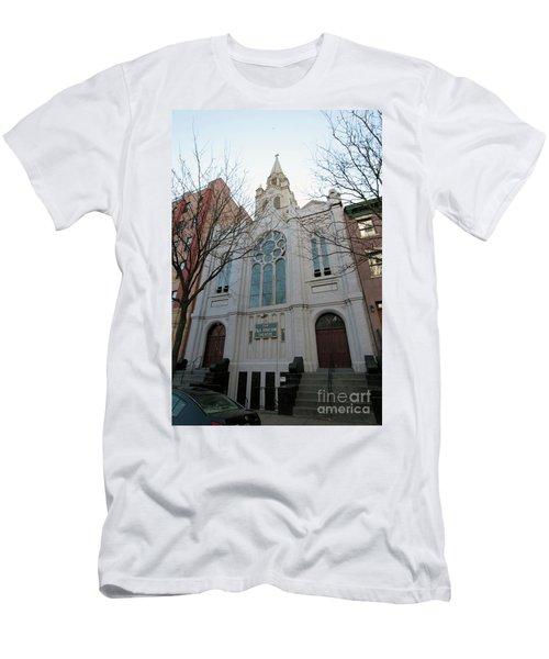 Paul Roberson Theatre  Men's T-Shirt (Athletic Fit)