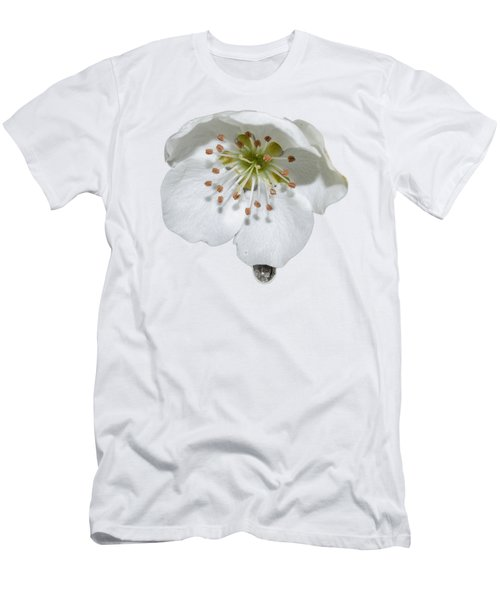 Pear Bloom Tee Shirt Men's T-Shirt (Athletic Fit)
