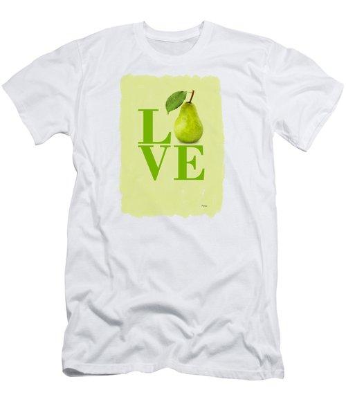 Pear Men's T-Shirt (Slim Fit) by Mark Rogan