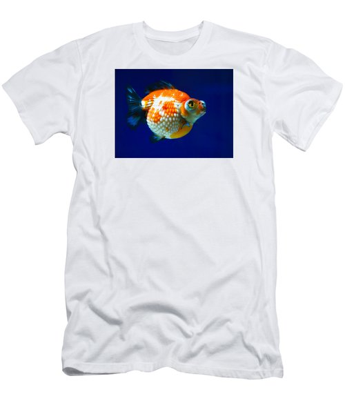 Pearl Scale Goldfish Men's T-Shirt (Athletic Fit)