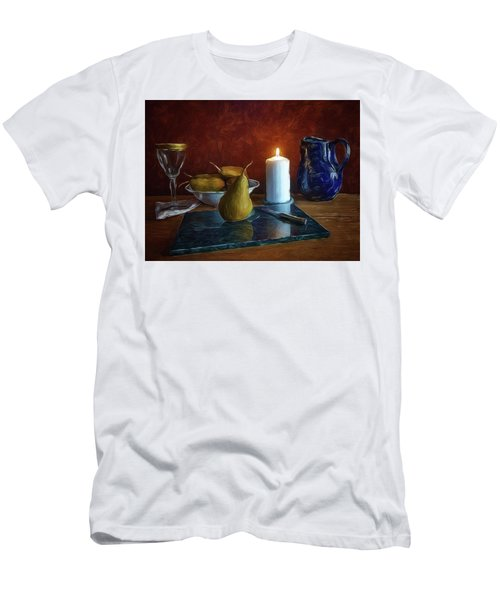 Pears By Candlelight Men's T-Shirt (Athletic Fit)