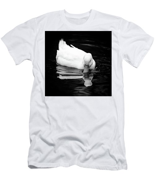 Peek-ing Duck Men's T-Shirt (Athletic Fit)