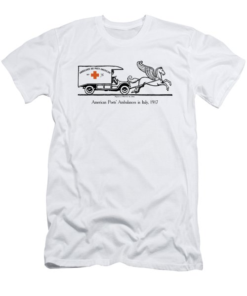 Pegasus At Work For The Allies Men's T-Shirt (Athletic Fit)
