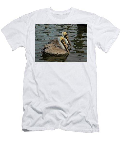 Pelican Duo Men's T-Shirt (Slim Fit) by Jean Noren