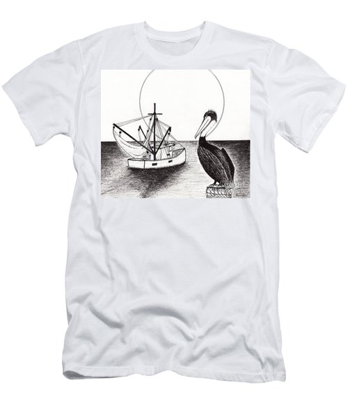 Pelican Fishing Paradise C1 Men's T-Shirt (Athletic Fit)