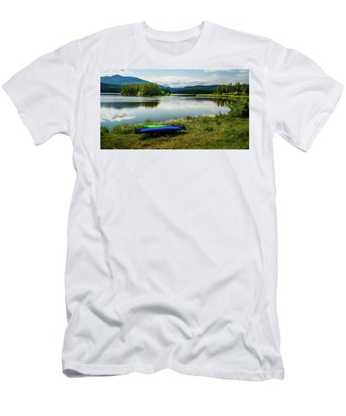 Pelicans At Shadow Mountain Lake Men's T-Shirt (Athletic Fit)