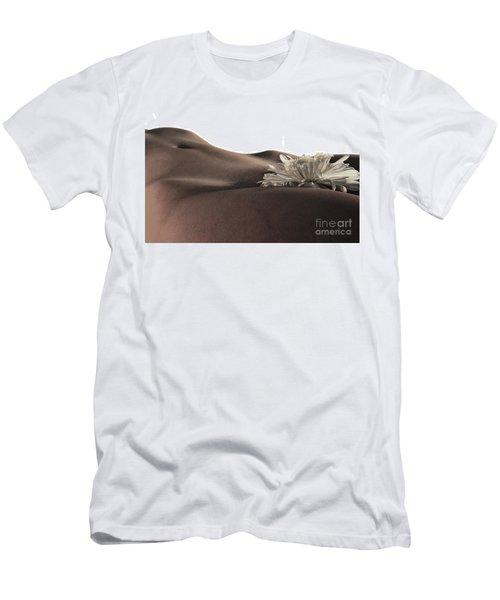 Pelvis Petals Men's T-Shirt (Slim Fit) by Robert WK Clark
