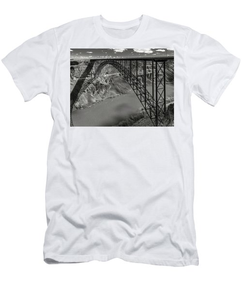 Perrine Bridge, Twin Falls, Idaho Men's T-Shirt (Athletic Fit)