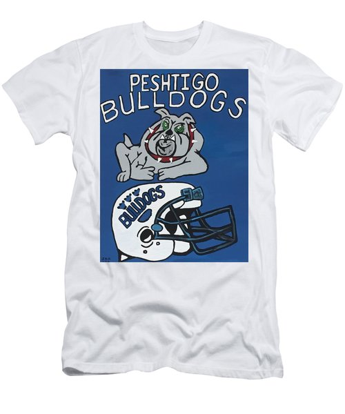 Peshtigo Bulldogs Men's T-Shirt (Athletic Fit)