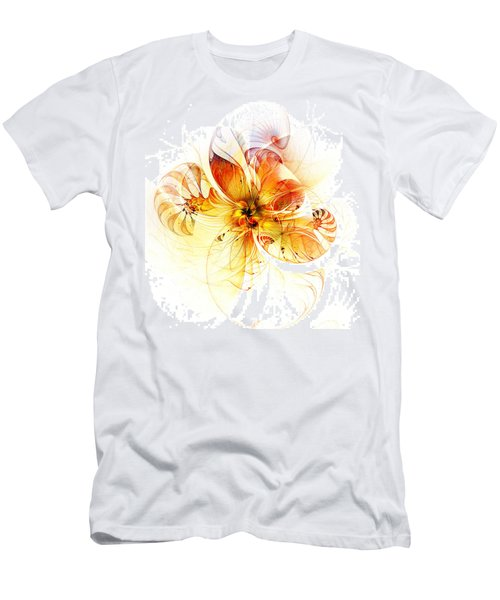 Petals Of Gold Men's T-Shirt (Athletic Fit)