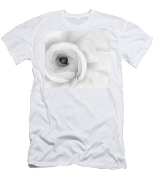 Petals Unfurling Men's T-Shirt (Athletic Fit)