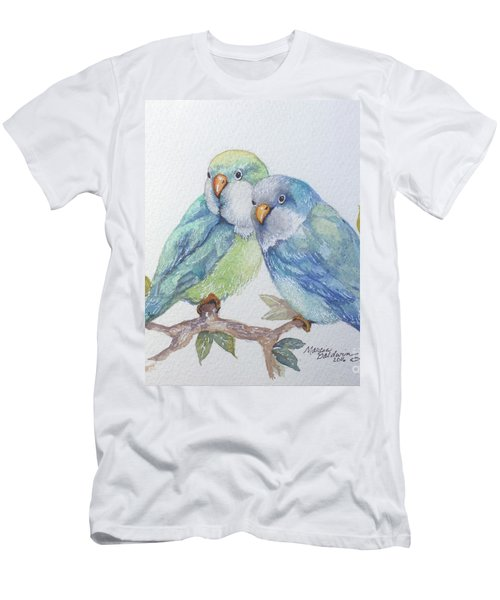 Pete And Repete Men's T-Shirt (Slim Fit) by Marcia Baldwin