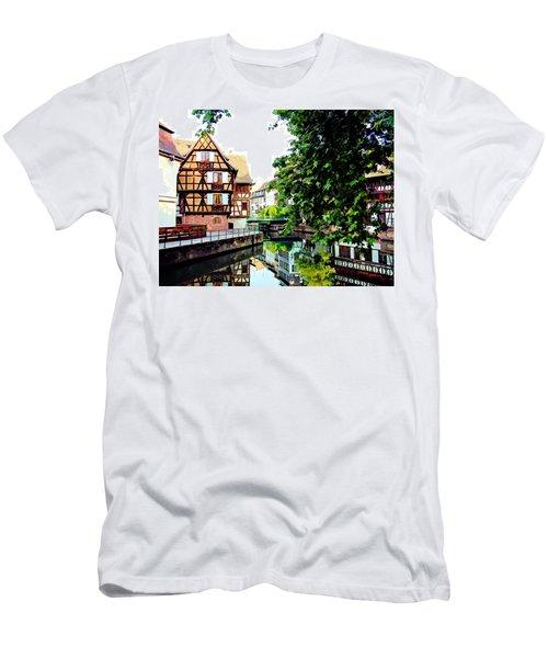 Petite France - Strassbourg, France Men's T-Shirt (Athletic Fit)