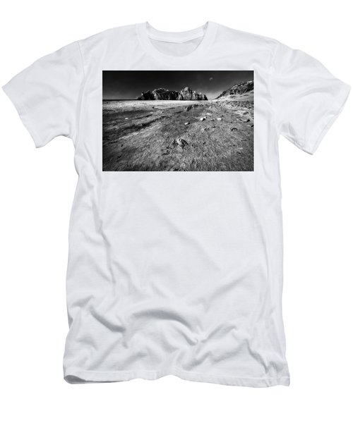 Men's T-Shirt (Slim Fit) featuring the photograph Pheiffer Beach -keyhole Rock #17 Big Sur, Ca by Jennifer Rondinelli Reilly - Fine Art Photography