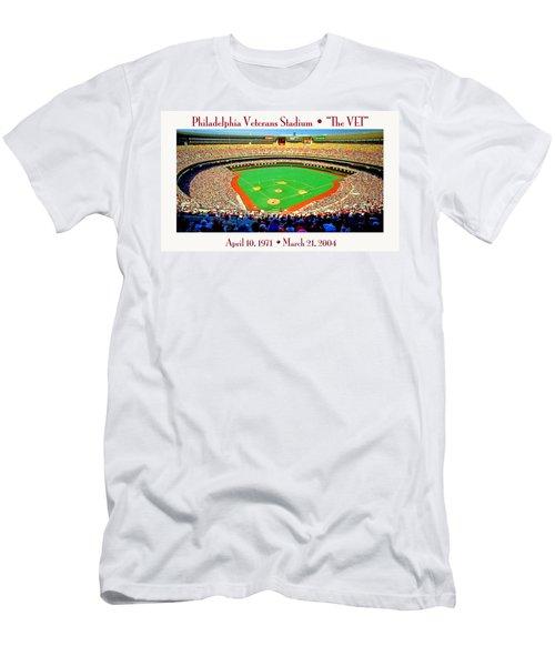 Philadelphia Veterans Stadium The Vet Men's T-Shirt (Athletic Fit)