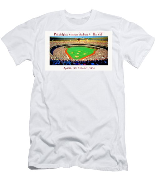 Philadelphia Veterans Stadium The Vet Men's T-Shirt (Athletic Fit)