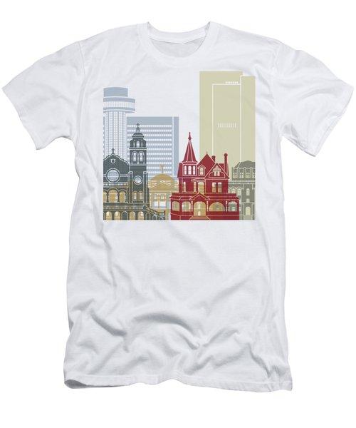 Phoenix Skyline Poster Men's T-Shirt (Athletic Fit)
