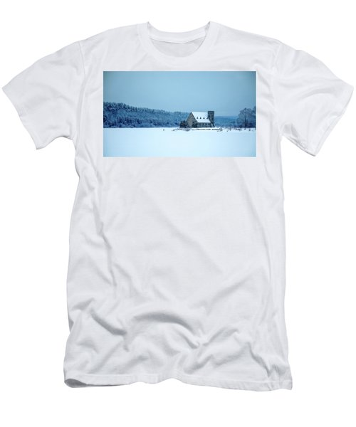 Photographer On Thin Ice Men's T-Shirt (Athletic Fit)