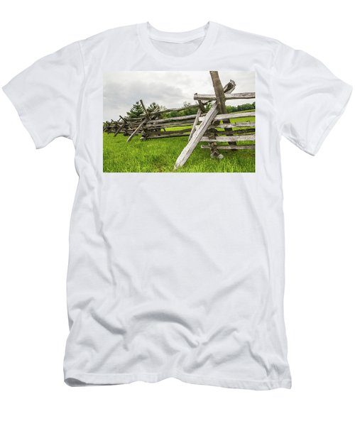 Picket Fence Men's T-Shirt (Athletic Fit)