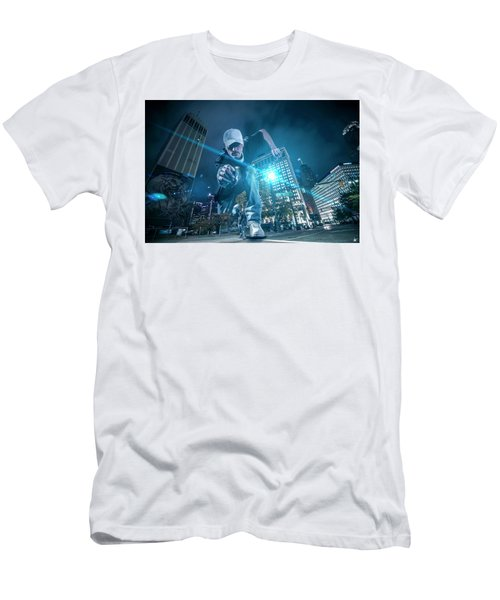 Men's T-Shirt (Slim Fit) featuring the photograph Pics By Nick by Nicholas Grunas