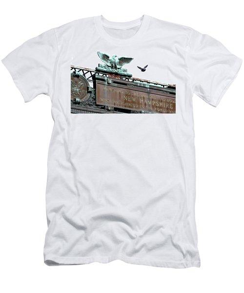 Pidgeon Intrusion Men's T-Shirt (Athletic Fit)