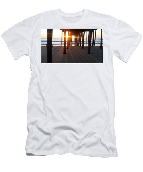 Pier Shadows Men's T-Shirt (Athletic Fit)