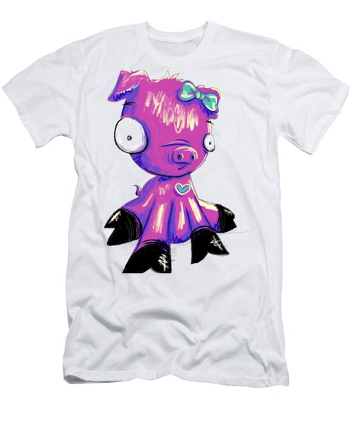 Piggy  Men's T-Shirt (Athletic Fit)