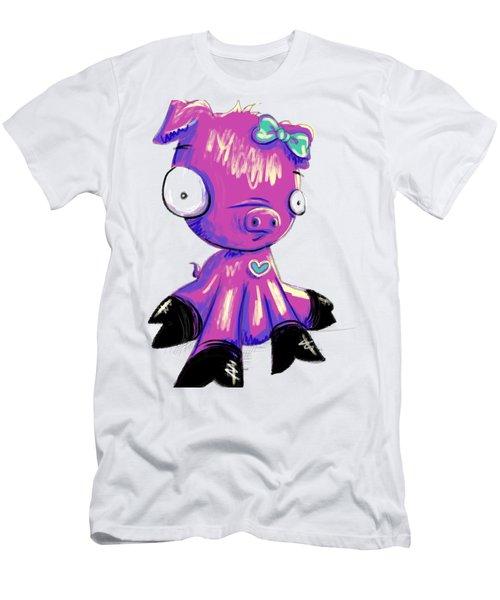 Piggy  Men's T-Shirt (Athletic Fit)