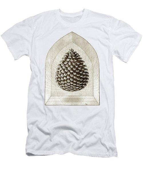 Pine Cone Men's T-Shirt (Athletic Fit)